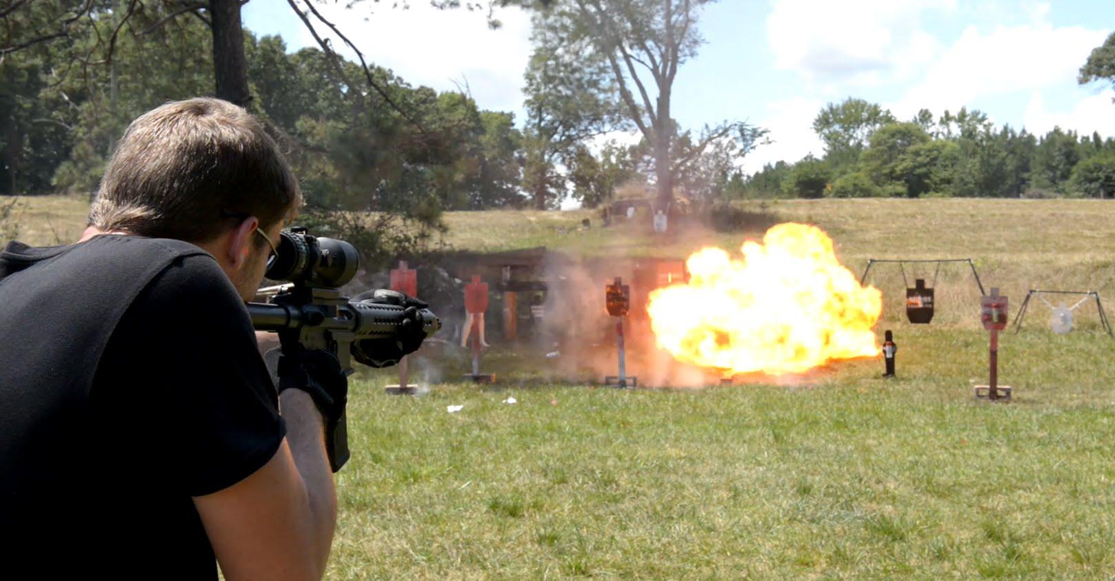 Houlding Precision G2L Carbon Fiber AR-15