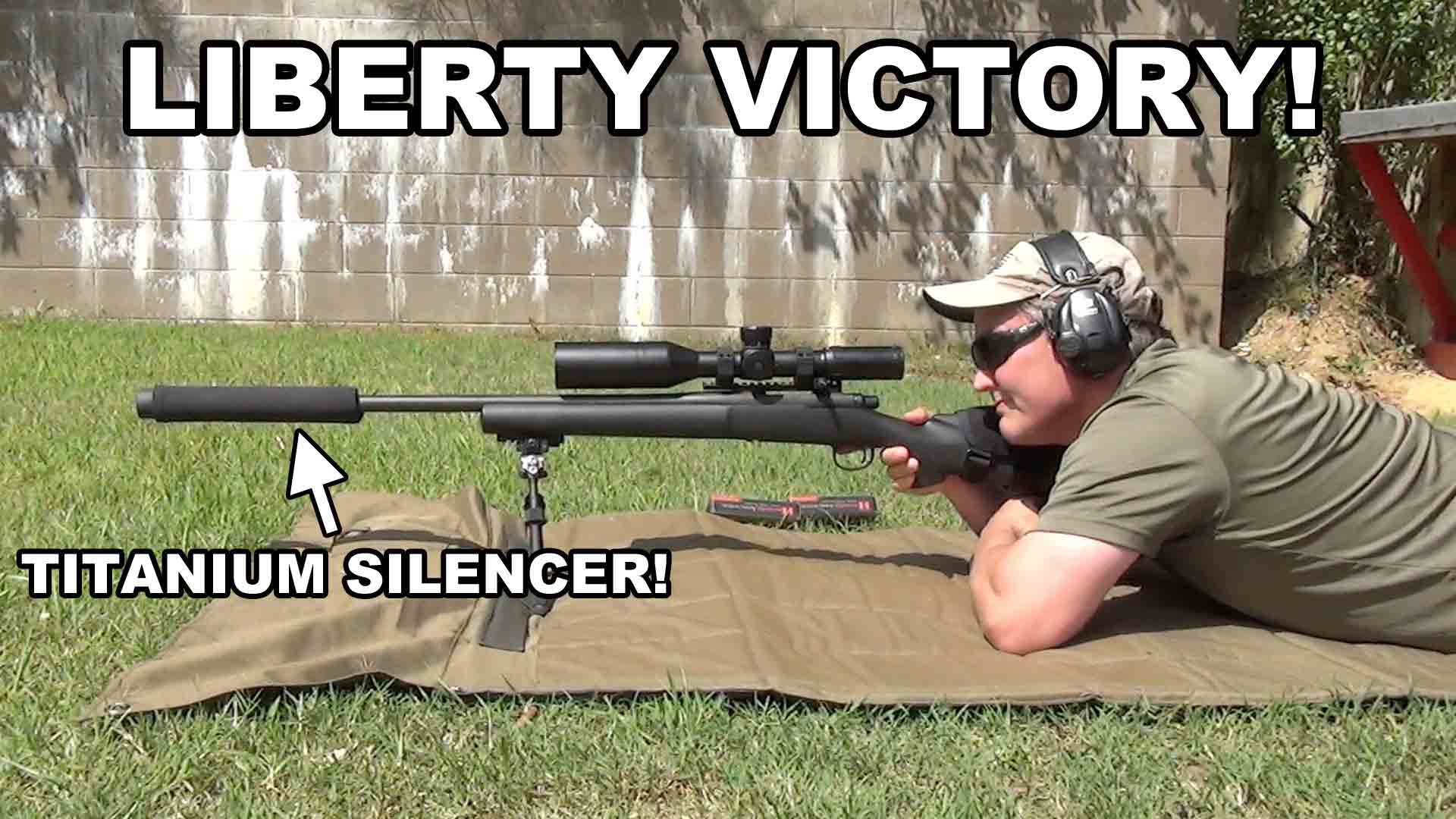 Remington 700 PSS with Liberty Victory Suppressor