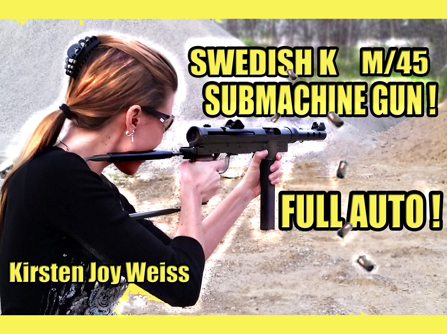 Swedish K Submachine Gun