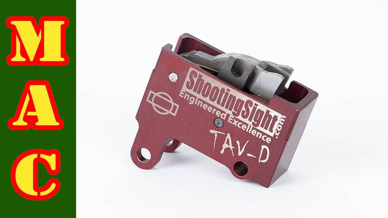 TAV-D Trigger for Tavor Rifle