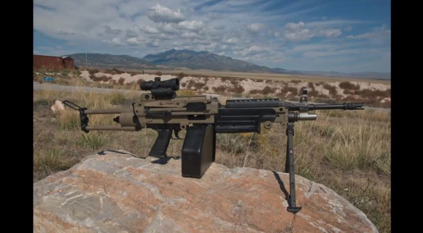MGA M249 SAW in 6.8 SPC