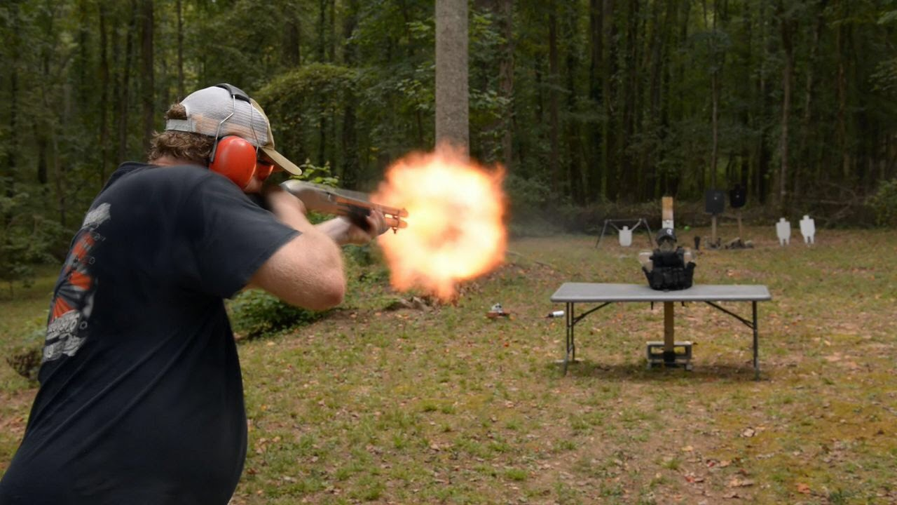 AR500 Armor vs 12 Gauge Shotgun
