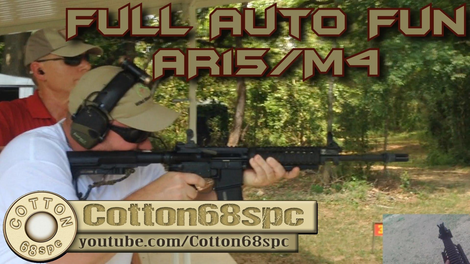 Full Auto AR-15