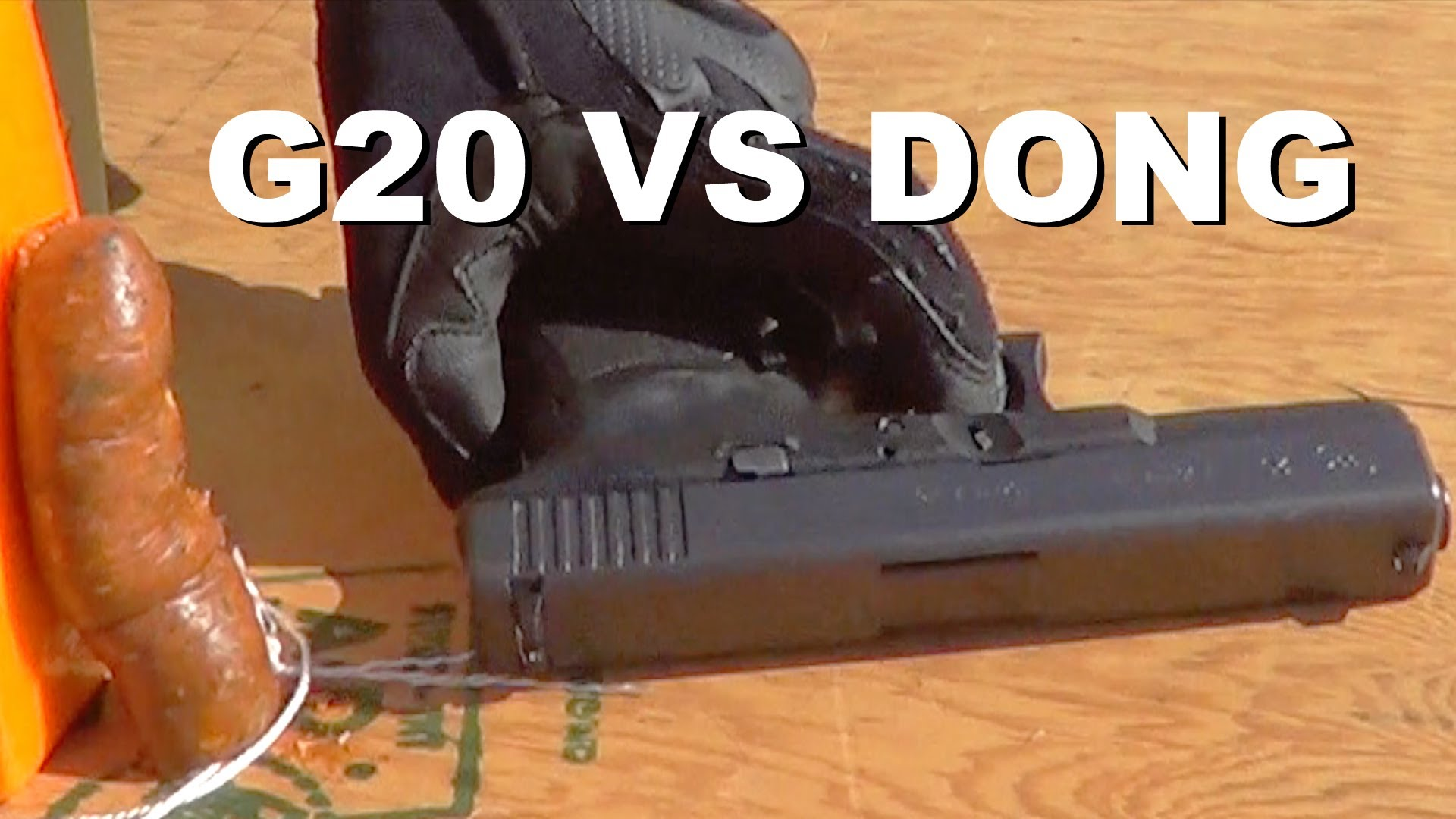 Glock 20 Slide vs Wiener