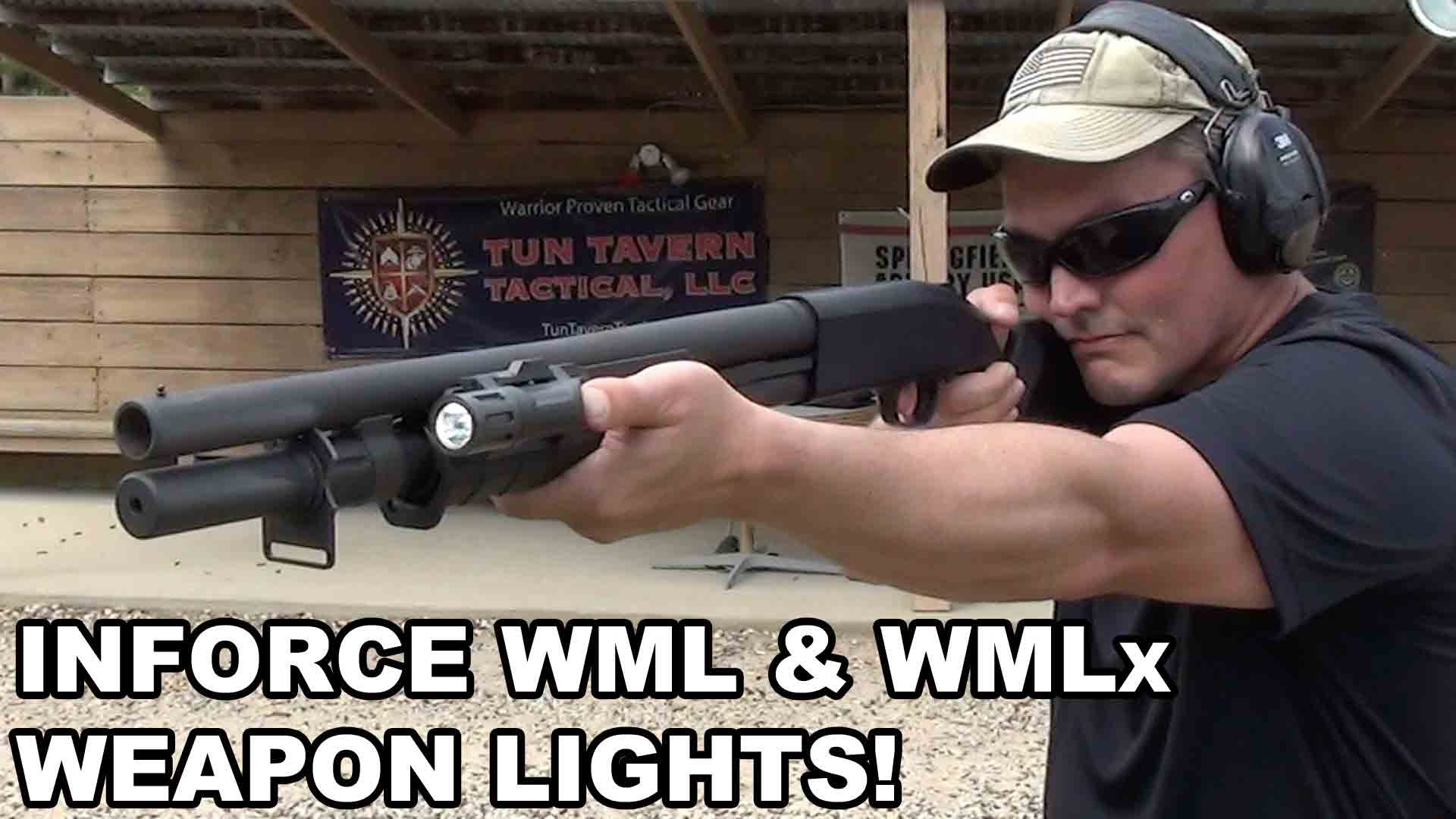 Inforce WML and WMLx Weapon Lights