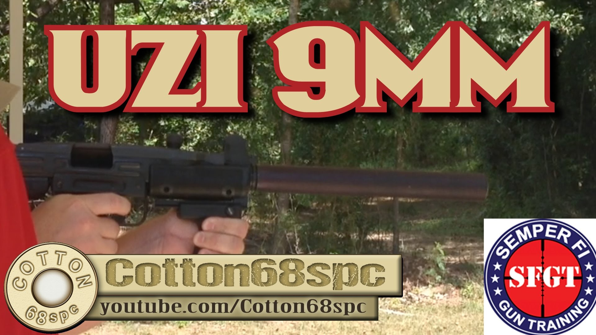9mm UZI Submachine Gun