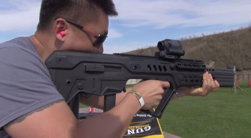Integrated 9mm Tavor Suppressor