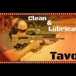 Cleaning the Tavor Rifle
