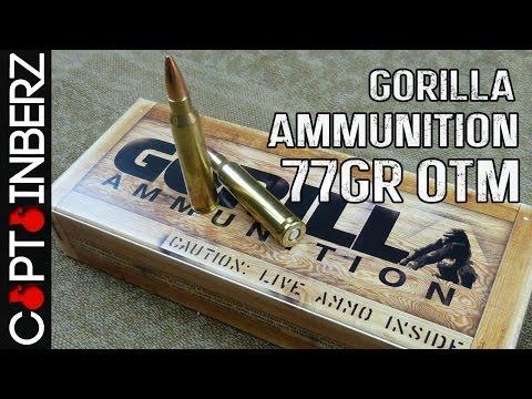 Gorilla Ammunition 223 Remington 77gr Sierra MatchKing