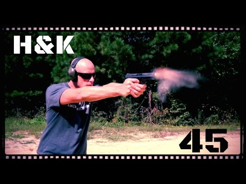 Heckler & Koch HK45 Pistol Review