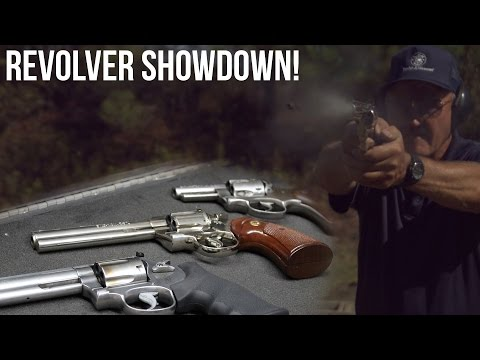 Jerry Miculek Revolver Showdown