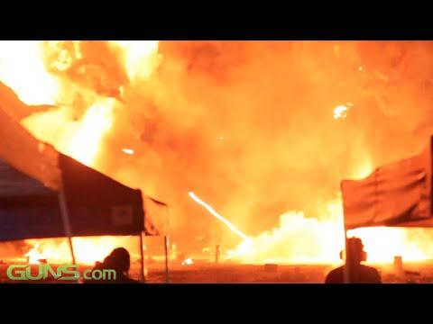Knob Creek Machine Gun Shoot - Night Shoot