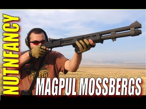 Mossberg Magpul Series Pump Shotguns