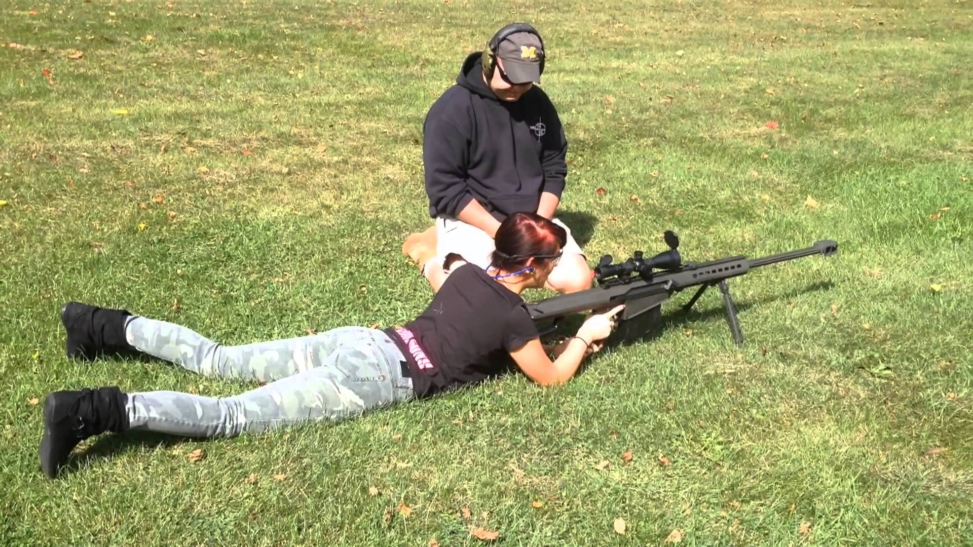 Shooting The Barrett M82A1
