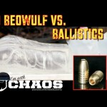 50 Beowulf vs Ballistics Gel