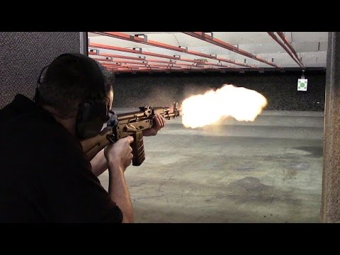 Arsenal SLR-106FR Range Demo