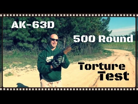 Century Arms AK63D - Gun Videos