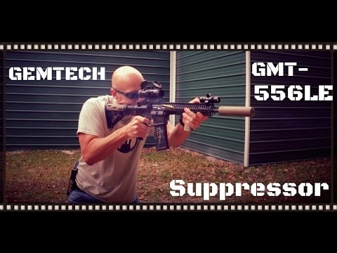 GEMTECH GMT-556LE Suppressor
