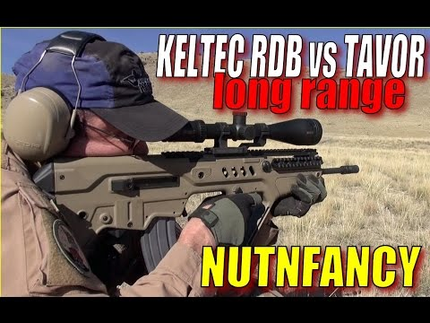 Kel-Tec RDB vs IWI Tavor Long Range Run and Gun