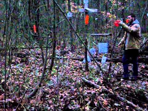 AR-15 Dual Swinging Target Trick Shot