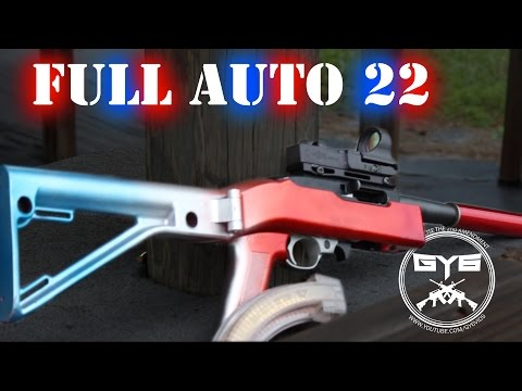 Full-Auto Ruger 10/22