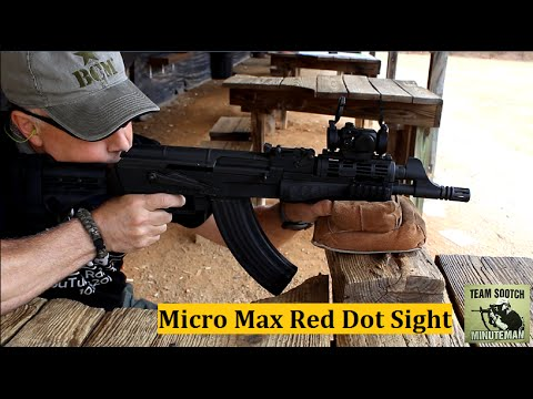 Hi-Lux Micro-Max B-Dot Red Dot Sight