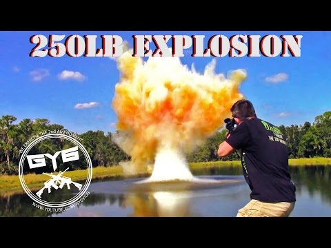250 Pound Exploding Target