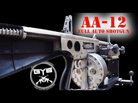 AA-12 Full Auto Shotgun