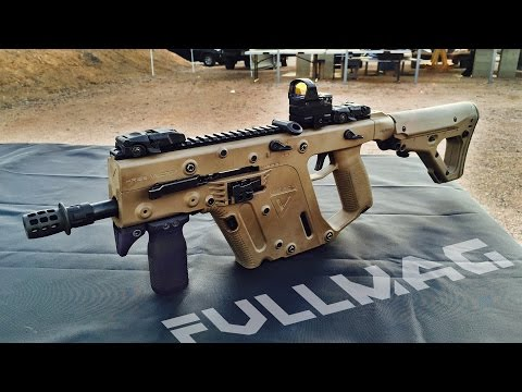 Kriss Vector 9mm Submachine Gun