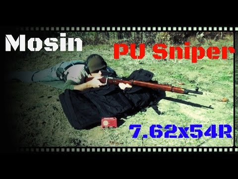 Mosin–Nagant M91/30 PU Sniper Rifle