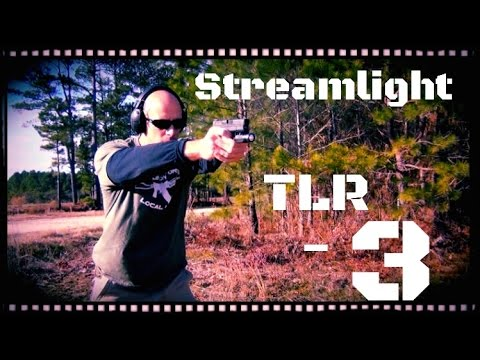 Streamlight TLR-3 Compact Rail Mounted Tactical Light