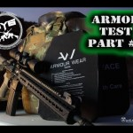 Armour Wear Body Armor - Perforation Test
