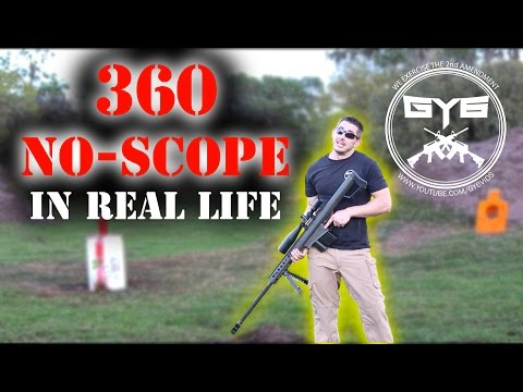 Barrett 50 BMG 360 No-Scope