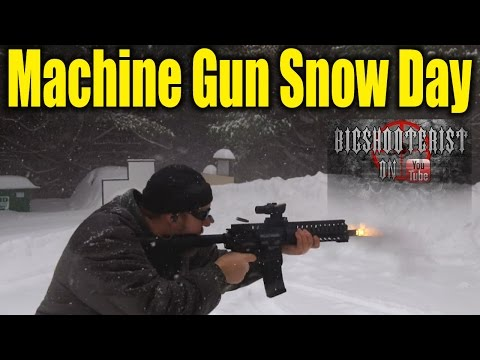Full-Auto Snow Day