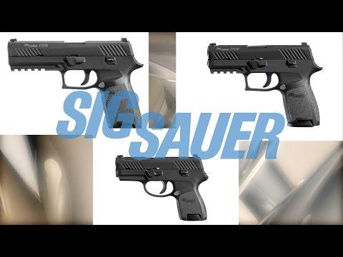 Sig P320 Pistol Modularity