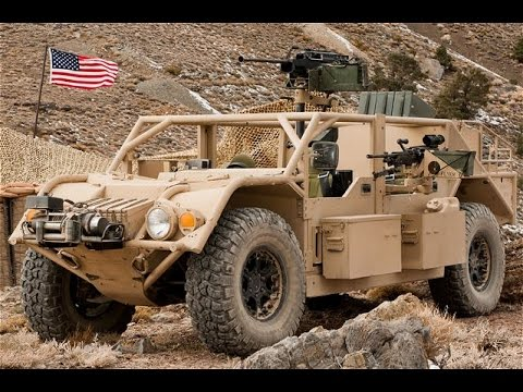 US Military Flyer Lightweight Tactical Vehicle