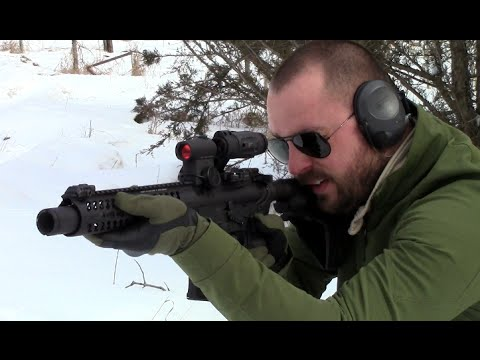 300 Blackout AR Pistol Build Test Fire