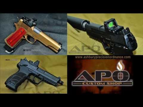 APO Custom Shop Custom Pistols
