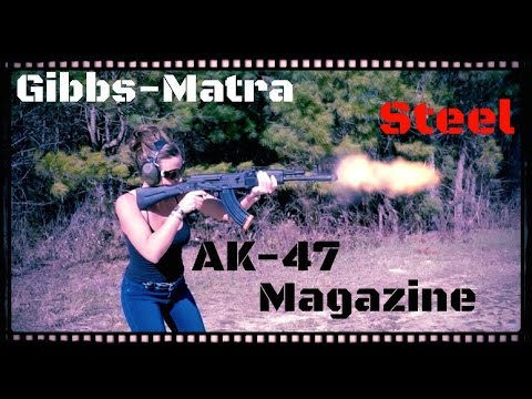 Gibbs-Matra AK-47 Magazine Test