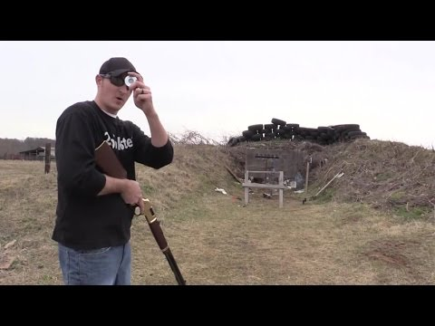Henry Rifle Trick Shot