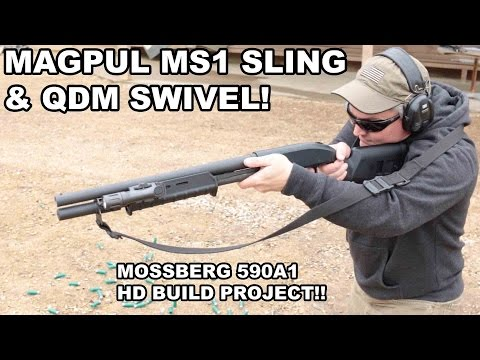 Magpul MS1 Sling on Mossberg 590A1 Shotgun