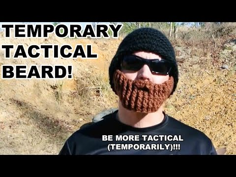 Improve Shooting Range Performance with a Tactical Beard