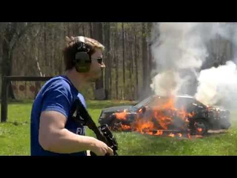 CMMG Mk47 Mutant Full Auto Range Demo