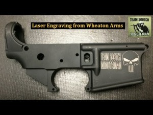 Custom Firearm Laser Engraving