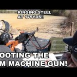 PKM Machine Gun Range Demo
