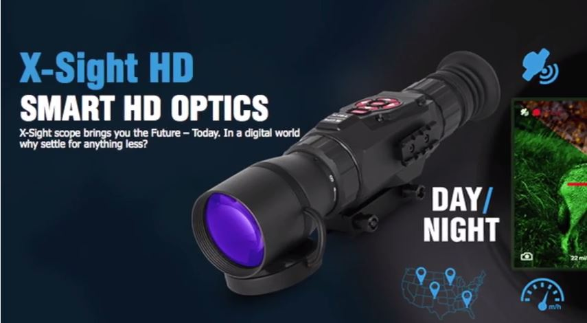 ATN X-Sight HD Day-Night Riflescope
