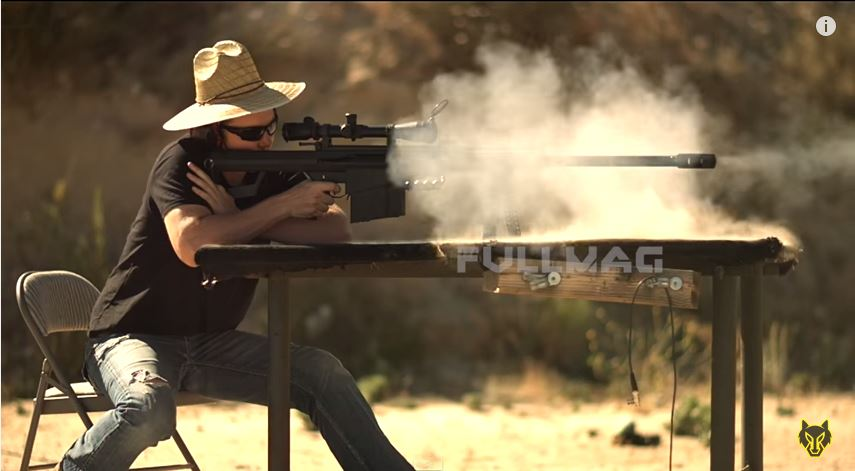 Barrett M82A1 50 Cal vs Apple Watch