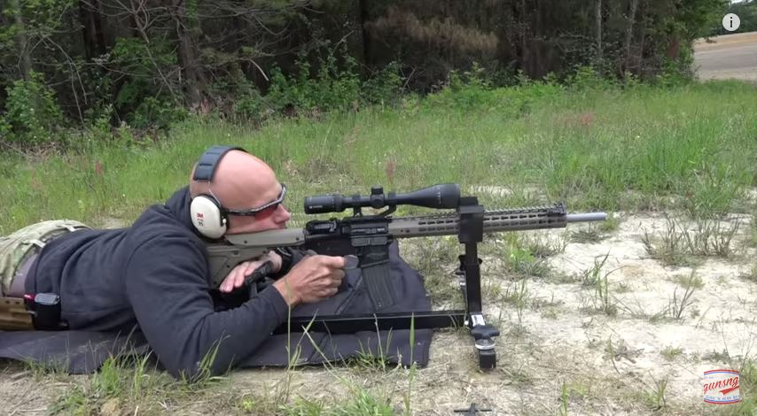 Prototype Green Mountain AR-15 Barrel Test