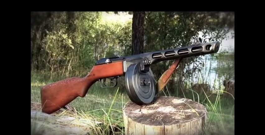 Soviet PPSh-41 Submachine Gun