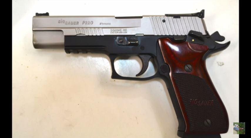 Sig P220 Super Match